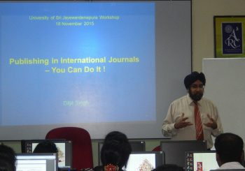 Publishing in International Journals – You Can Do It!
