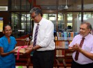 Donation in memory of late Mr. K.D.K. Dharmawardena