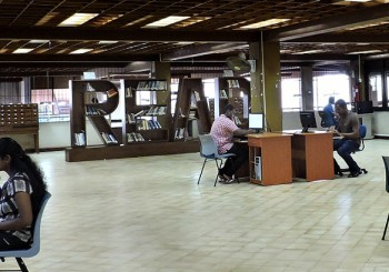 Library Renovation is Underway
