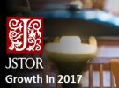 JSTOR Growth in 2017