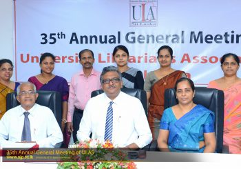 35th Annual General Meeting – University Librarians Association of Sri Lanka